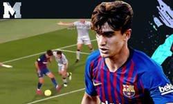 Enlace a Este señor GOLAZO de Collado con el Barça B es para verlo una y otra vez