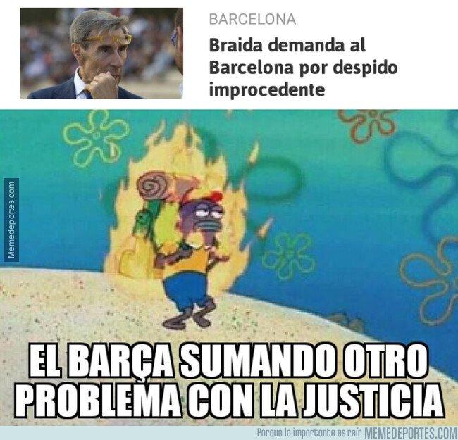 1087215 - El Barça pasando por el juzgado se siente como en casa
