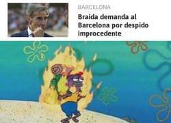 Enlace a El Barça pasando por el juzgado se siente como en casa