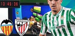 Enlace a Escándalo: Esto ocurrió en la sala del VAR durante el Athletic-Valencia y el jugador Feddal, del Betis, salió a criticar