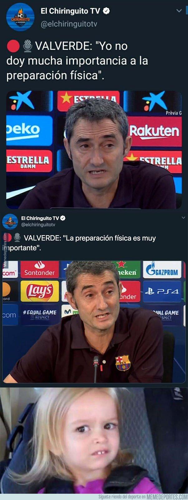 1087410 - La mayor contradicción de Valverde en una rueda de prensa en menos de 7 días de la que todo el mundo habla