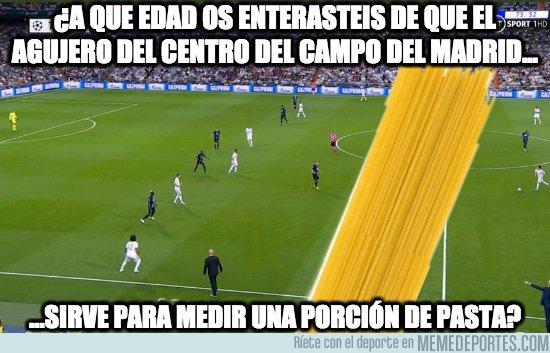 1087485 - La única utilidad del centro del campo del Madrid