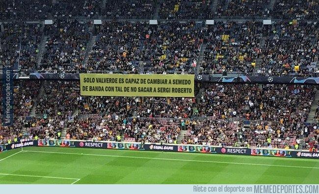 1087510 - Que razón tenía esa pancarta en el Camp Nou