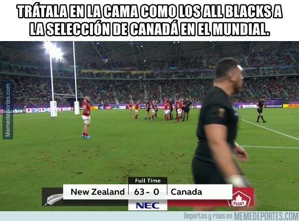 1087517 - La inmisericorde paliza de los All Blacks a Canadá en el mundial de Rugby