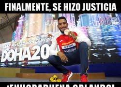 Enlace a Merecidísimo bronce para Orlando Ortega