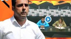 Enlace a La reacción del entrenador del Espanyol al ver que ha hablado más de 1 minuto y la traductora tiene que traducirlo todo al ruso