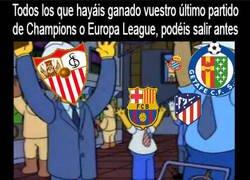 Enlace a Todos pueden salir antes menos Real Madrid y Valencia...
