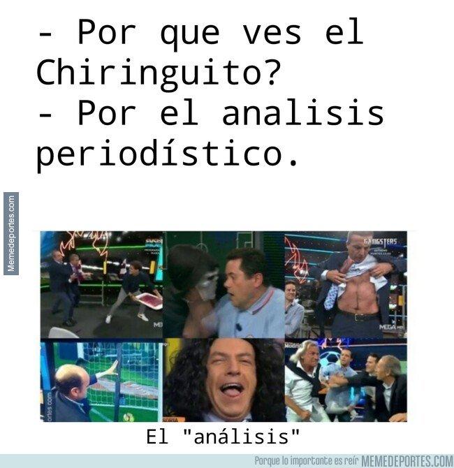 1087577 - Los análisis del Chiringuito