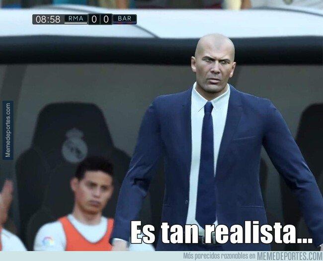 1087633 - El Realismo del FIFA es tanto que James aparece en el banquillo