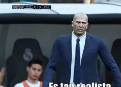 Enlace a El Realismo del FIFA es tanto que James aparece en el banquillo