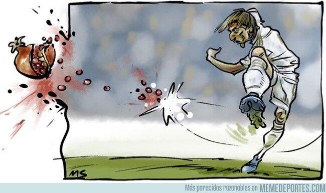 1087707 - Modric reventó al Granada con un misil, por @yesnocse