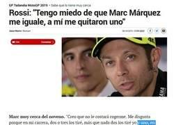 Enlace a Los lloros de Rossi no cesan