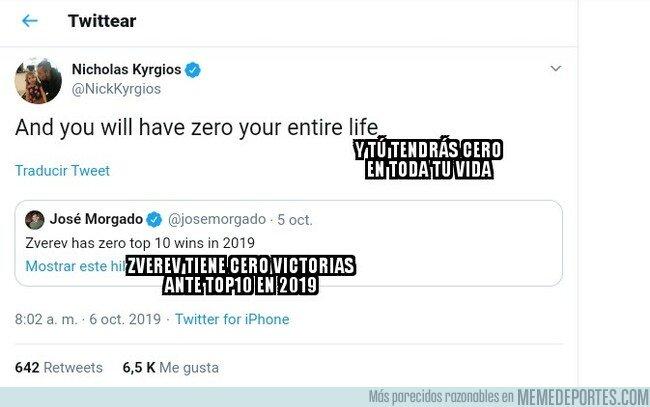 1087812 - El tremendo zasca de Kyrgios a un periodista en Twitter