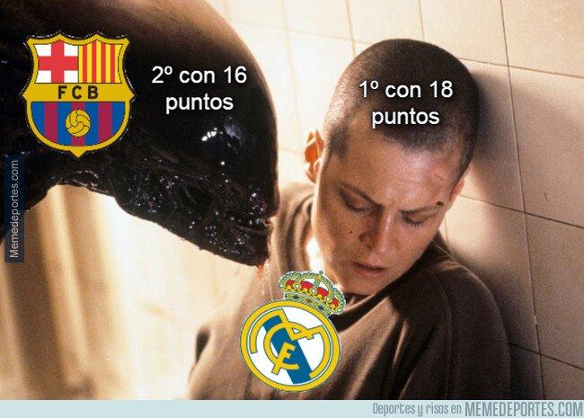 1087832 - No es por asustarte Real Madrid, pero ya tienes al Barça ahí a tu ladito muy cerca...