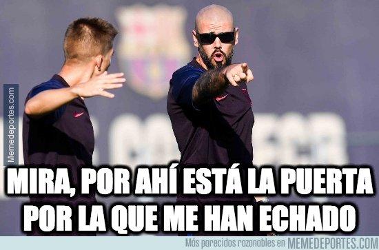 1087862 - Valdés, fuera del Barça antes de lo que hubiésemos pensado