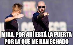 Enlace a Valdés, fuera del Barça antes de lo que hubiésemos pensado