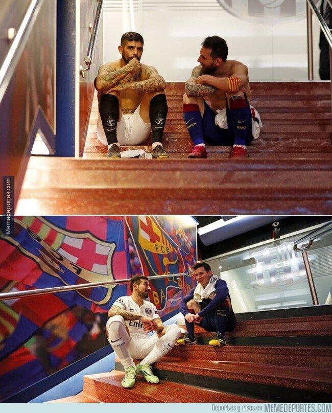 1087875 - Un pedacito argentino en los túneles del Camp Nou