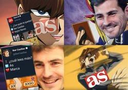 Enlace a La jugada maestra de Casillas contra el diario AS