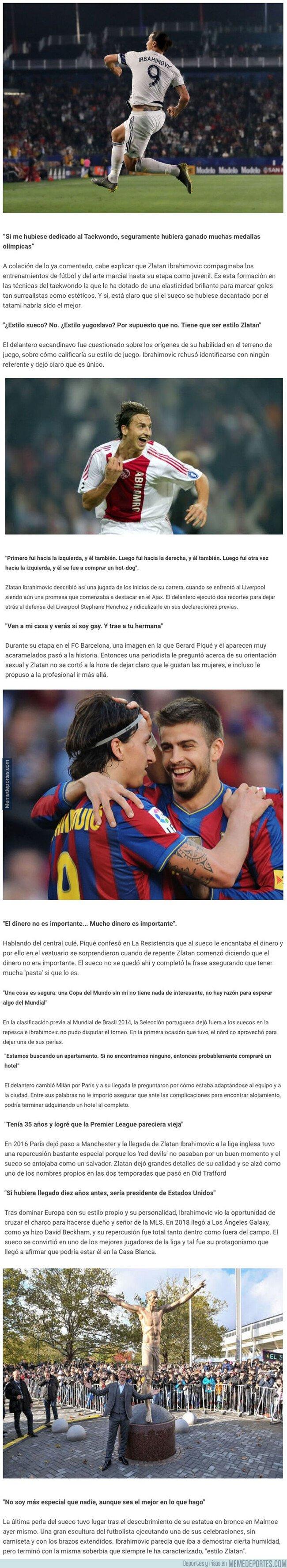 1088033 - Las 10 mejores frases de Zlatan Ibrahimovic a lo largo de su carrera