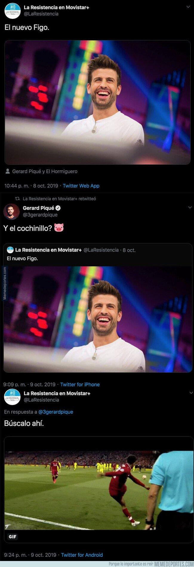1088103 - El hachazo descomunal que le ha dado el programa 'La Resistencia' después de que Piqué haya visitado 'El Hormiguero'