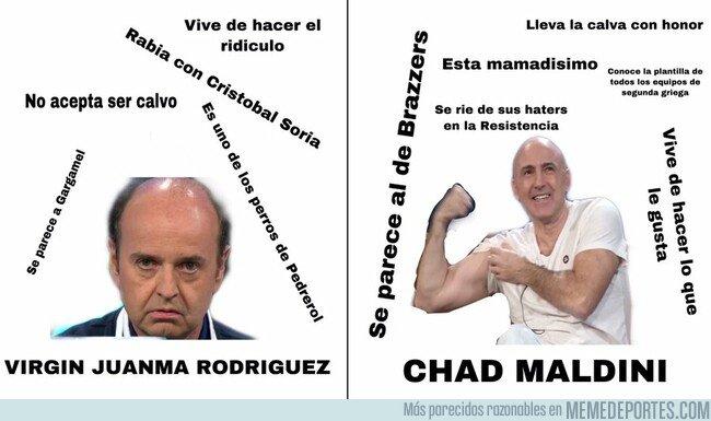 1088109 - Las grandes diferencias entre Juanma Rodríguez y Julio Maldonado