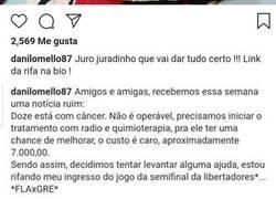 Enlace a Un hincha del Flamengo vende su entrada de la semifinal de la Copa para curar el cáncer de su perro