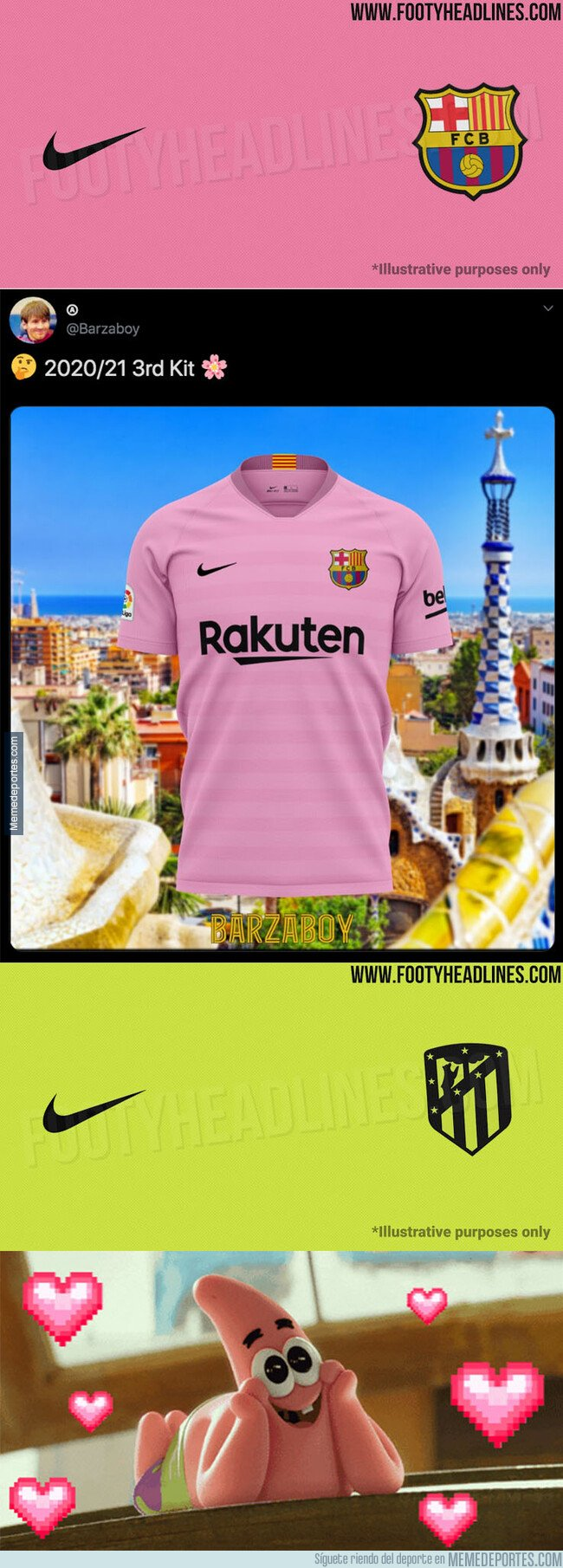 1088130 - Se filtra la tercera equipación del Barça y Atleti para la temporada que viene y todos están alucinando con el color