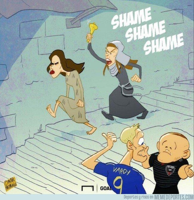 1088158 - La mujer de Rooney acusa a la mujer de Vardy de filtrar informaciones a la prensa, por @goalglobal