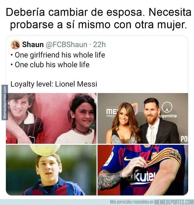 1088166 - Los haters de Messi han conseguido hacer ver la lealtad como una debilidad