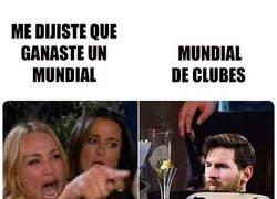 Enlace a Messi no mintió, si ganó un mundial