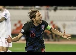 Enlace a El gran gol de Luka Modric frente a Hungría
