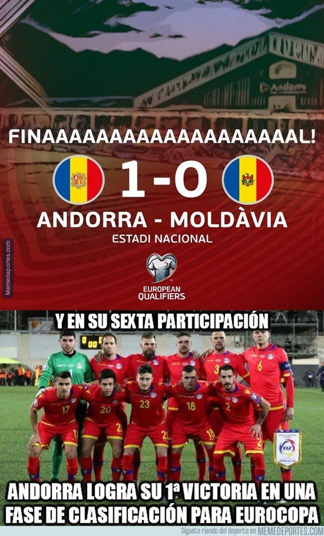 1088277 - Andorra logra estrenarse en una fase previa de Eurocopa