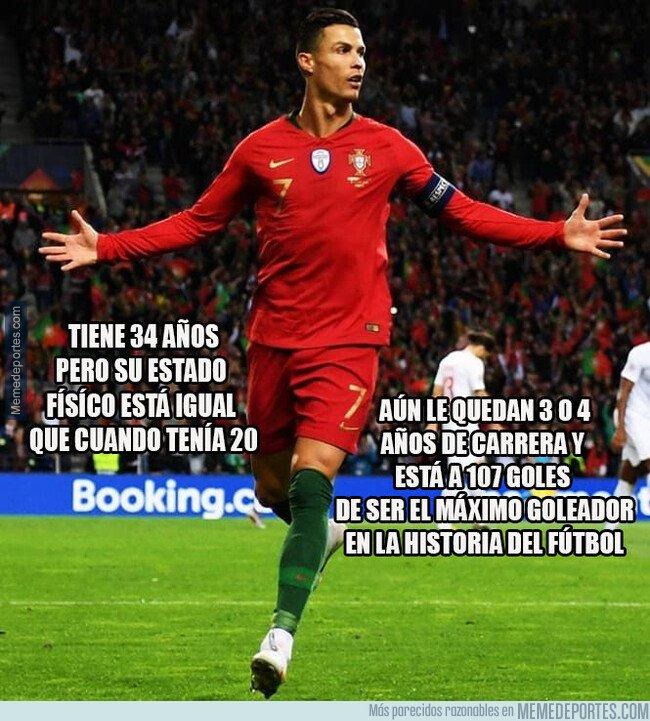 1088286 - Cristiano Ronaldo, no es un Dios pero sí el mejor jugador de los humanos