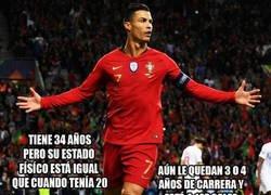 Enlace a Cristiano Ronaldo, no es un Dios pero sí el mejor jugador de los humanos