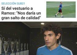 Enlace a Con Vallejo en el equipo, cualquiera querría que viniera Ramos