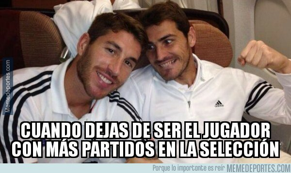 1088329 - Sergio Ramos supera a su amigo Iker Casillas