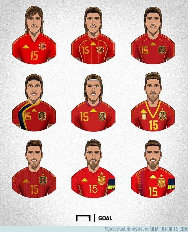 1088333 - Todas las etapas del jugador con más internacionalidades de la historia de la Roja, por @goalglobal