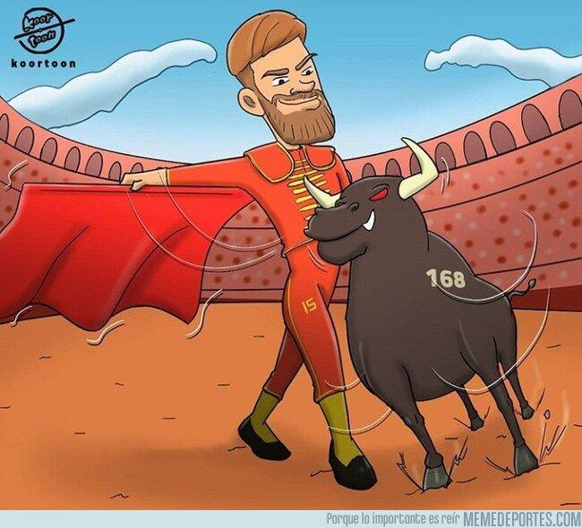 1088361 - Ramos ya ha toreado en la selección más que nadie, por @koortoon