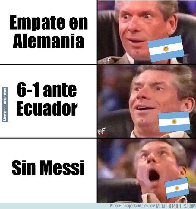 1088376 - Argentina supera la fecha FIFA con nota