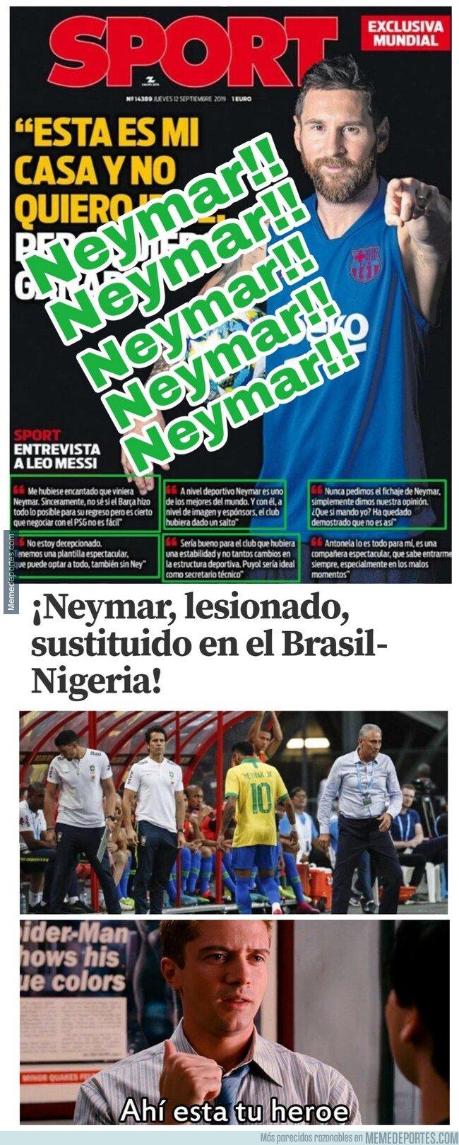 1088397 - Tanto jodían con Neymar, soltar más de 150 millones por un tío camino a los 30