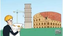 Enlace a Mancini reconstruye Italia y la devuelve a un gran torneo, por @footytoonz