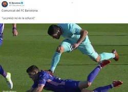 Enlace a De acuerdo con el Barça en esta cuestión