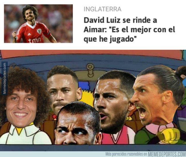 1088492 - David Luiz se mojó sobre el mejor jugador con el que ha jugado