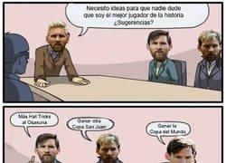 Enlace a Falta poco para que nadie lo dude, Messi el mejor
