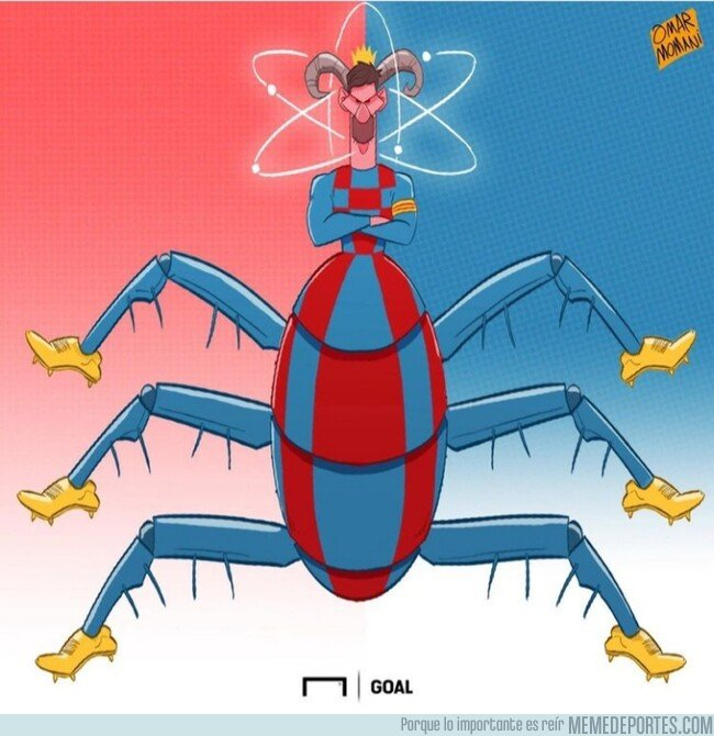 1088651 - La pulga ya puede calzarse una Bota de Oro en cada una de sus patas, por @goalglobal