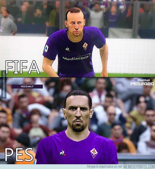 1088664 - La diferencia entre PES y FIFA con Ribéry por la que el francés se quejó a EA Sports