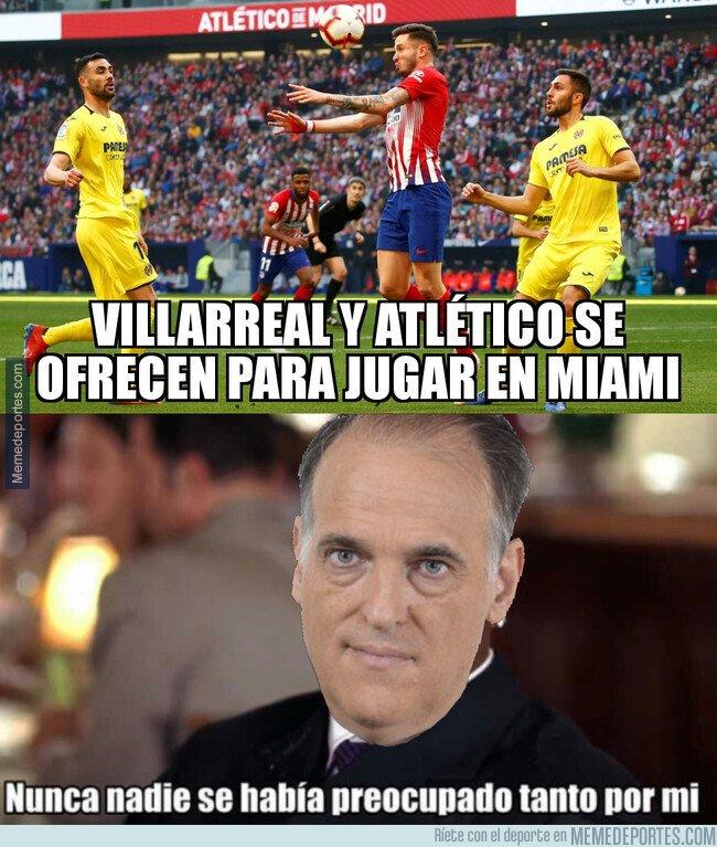 1088681 - Atlético y Villarreal le hacen un favor a Tebas
