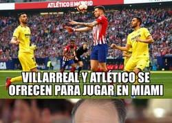 Enlace a Atlético y Villarreal le hacen un favor a Tebas