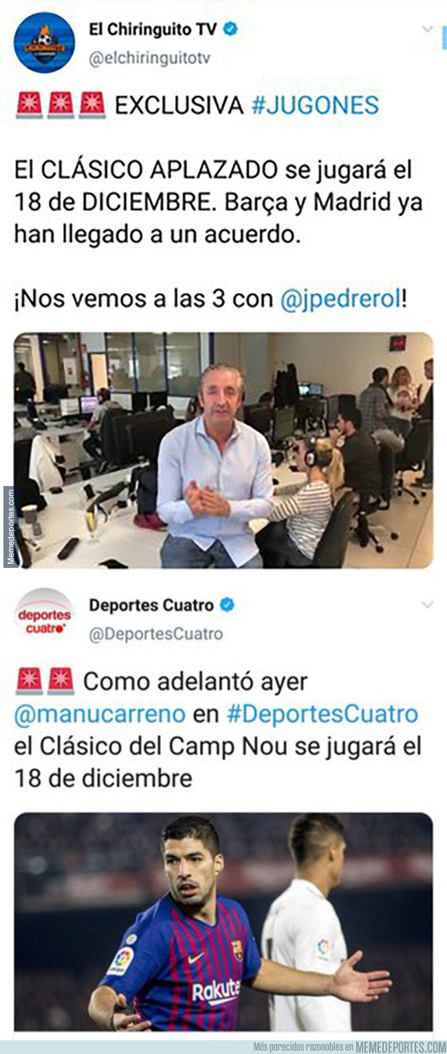 1088712 - Pedrerol intentando adueñarse de una exclusiva