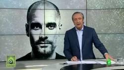 Enlace a La polémica rueda de prensa de Guardiola hablando de Madrid, Alsasua...